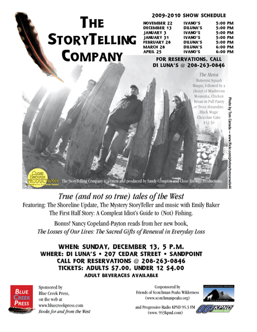 The Storytelling company 2009