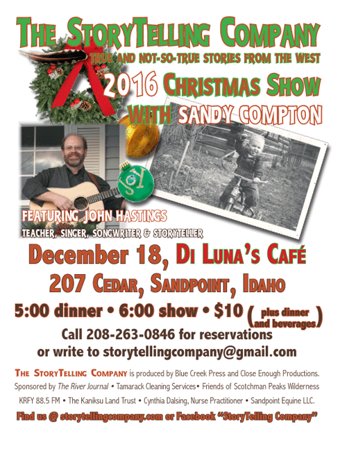 The Storytelling company christmas 2016