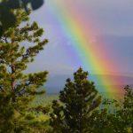 Spring, Muddy Feet and Rainbows